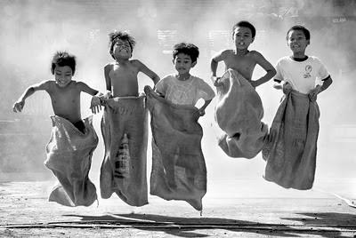 Juegos Tradicionales con sacos