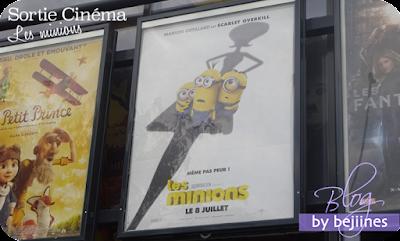 Sortie cinéma : Les Minions le film