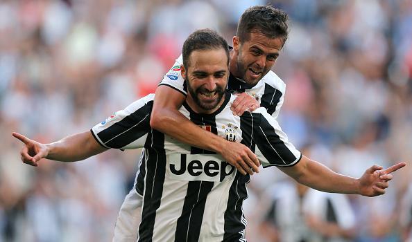 Gonzalo Higuain Pjanic  Paolo Dybala Juventus