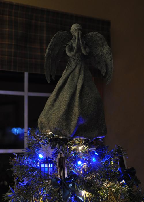 Tardis Christmas Tree