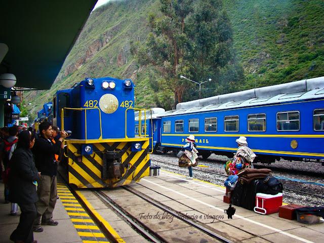 Perurail - Machu Picchu