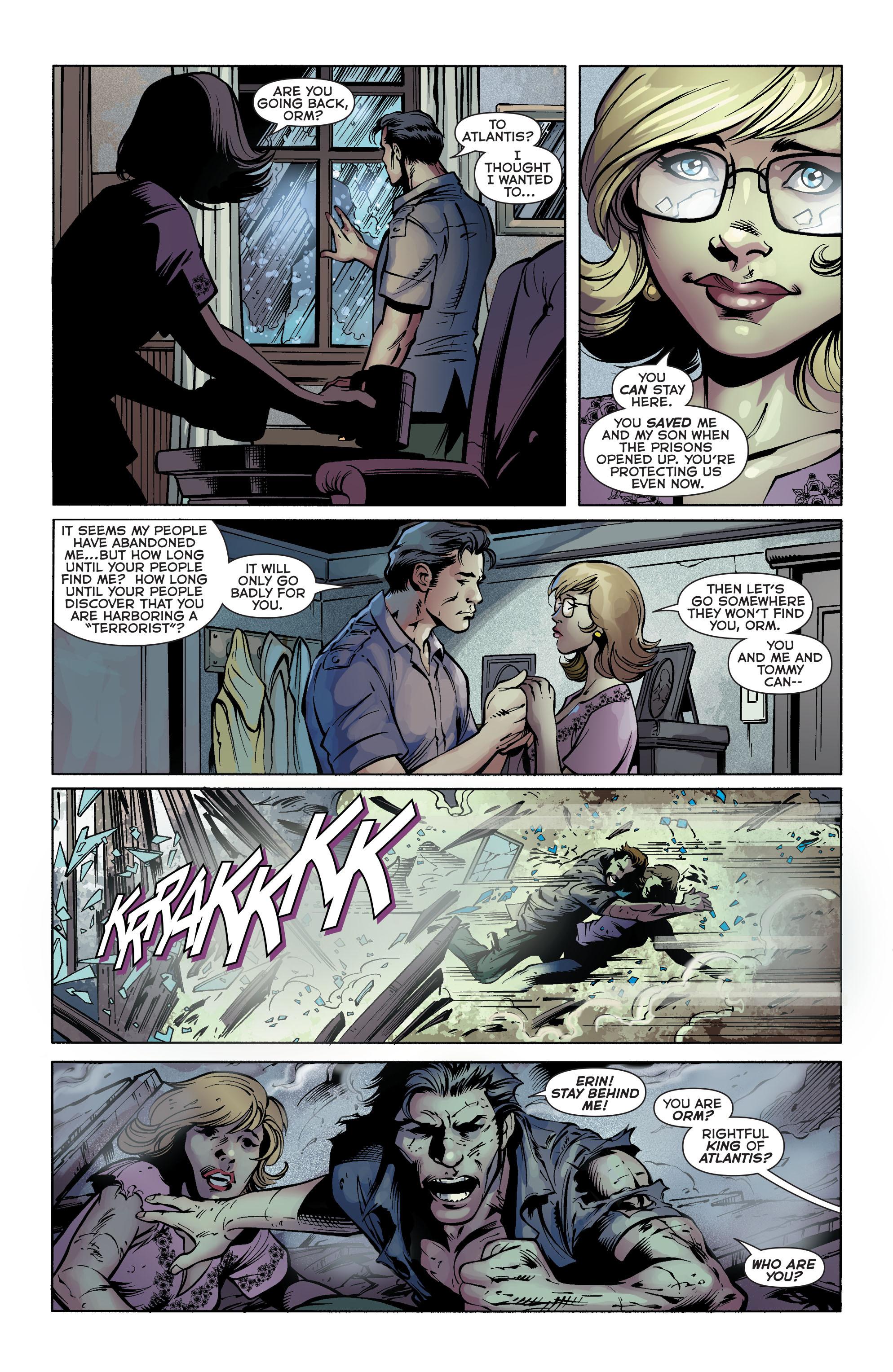 Read online Aquaman (2011) comic -  Issue #25 - 28