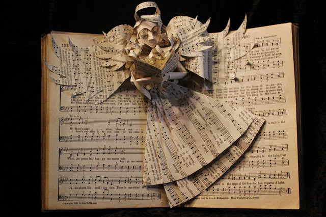 book sculpture ideas