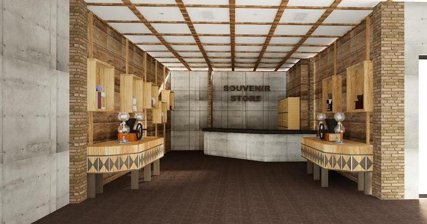 JASA INTERIOR 3D MURAH Jasa Gambar Desain Lobby Interior