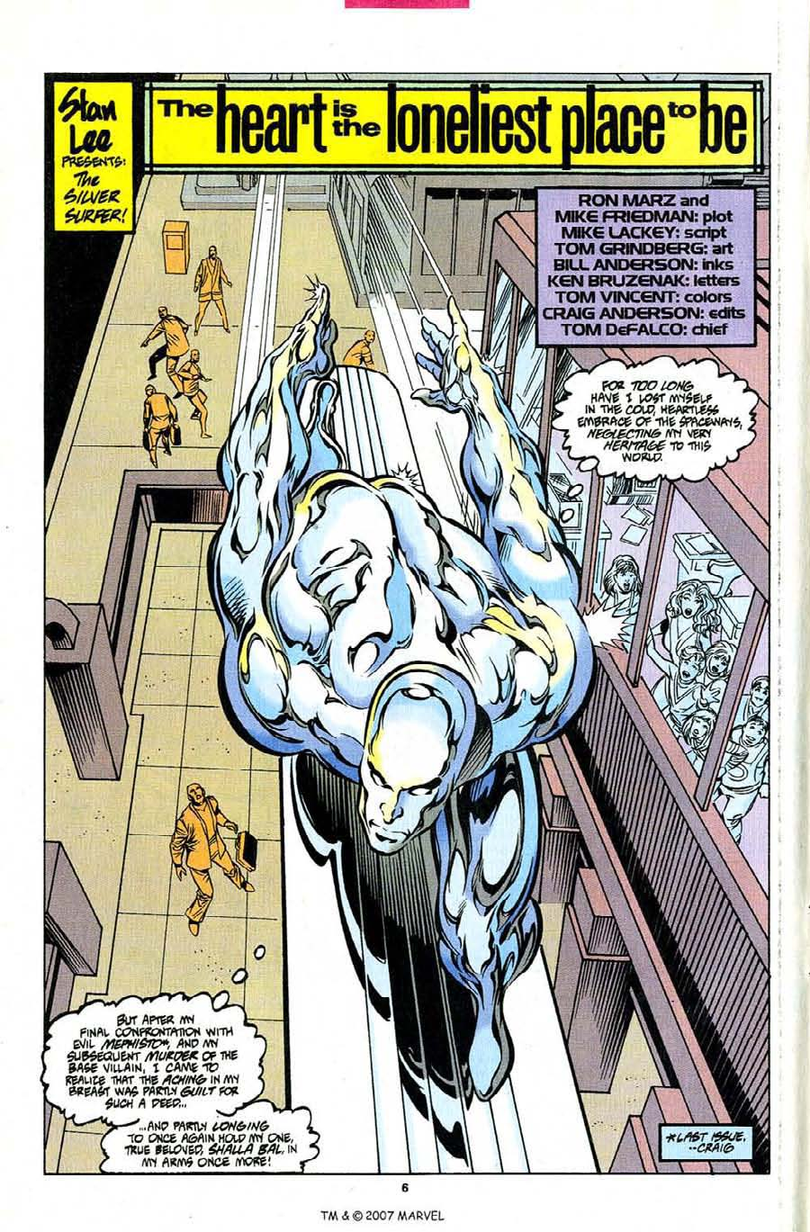 Silver Surfer (1987) Issue #101 #109 - English 8