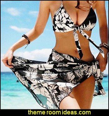 Women Swimwear Beach Bikinis Push Up Swimsuit Bathing Suit Swimsuits