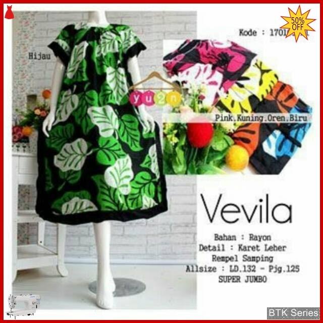 BTK066 Baju Dress Kelelawar Vevila Modis Murah BMGShop