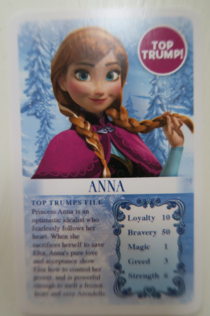 Anna is a top trump card