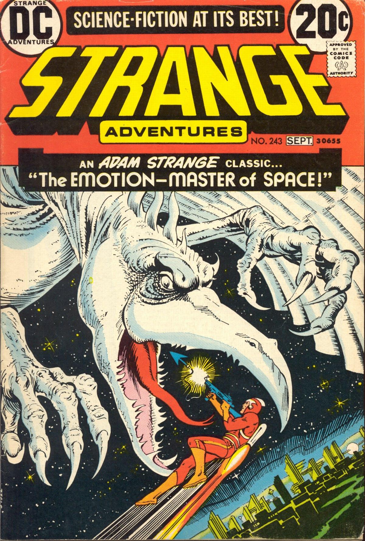 Strange Adventures (1950) issue 243 - Page 1