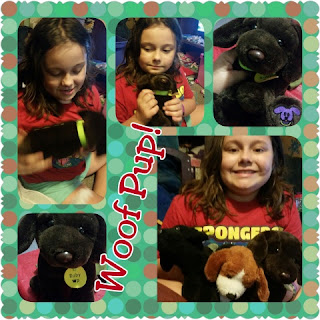 woof pup collage