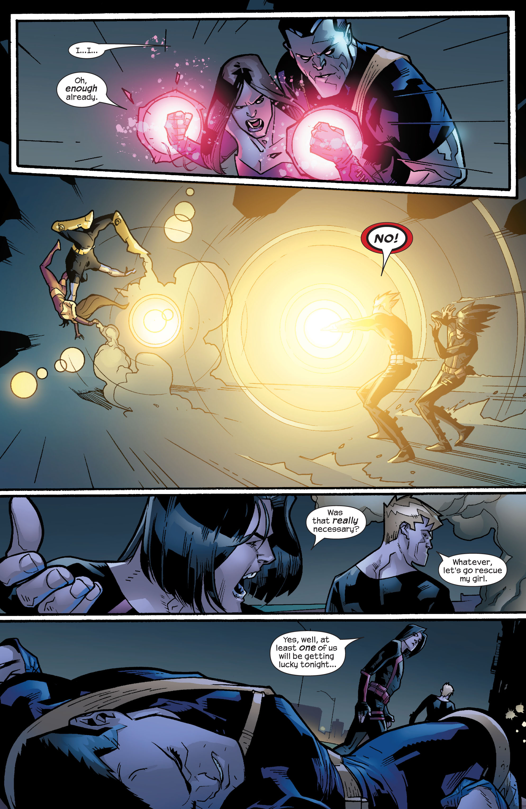 Read online Ultimate X-Men comic -  Issue #64 - 19