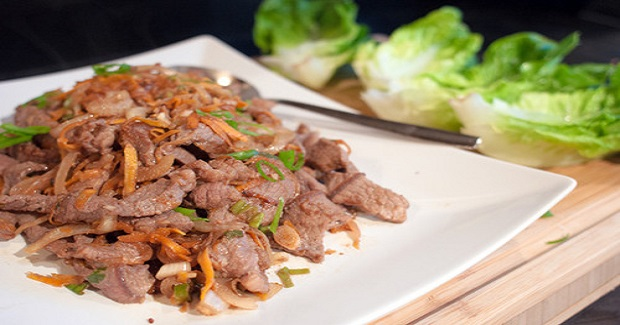 Beef Bulgogi Lettuce Wraps Receipe