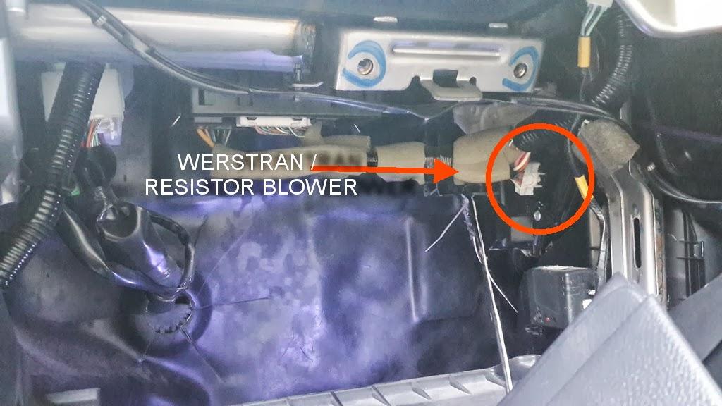 Diy   Bongkar Pasang Ganti Werstrand    Resistor Blower Ac Grand Livina  Ab 7770ko