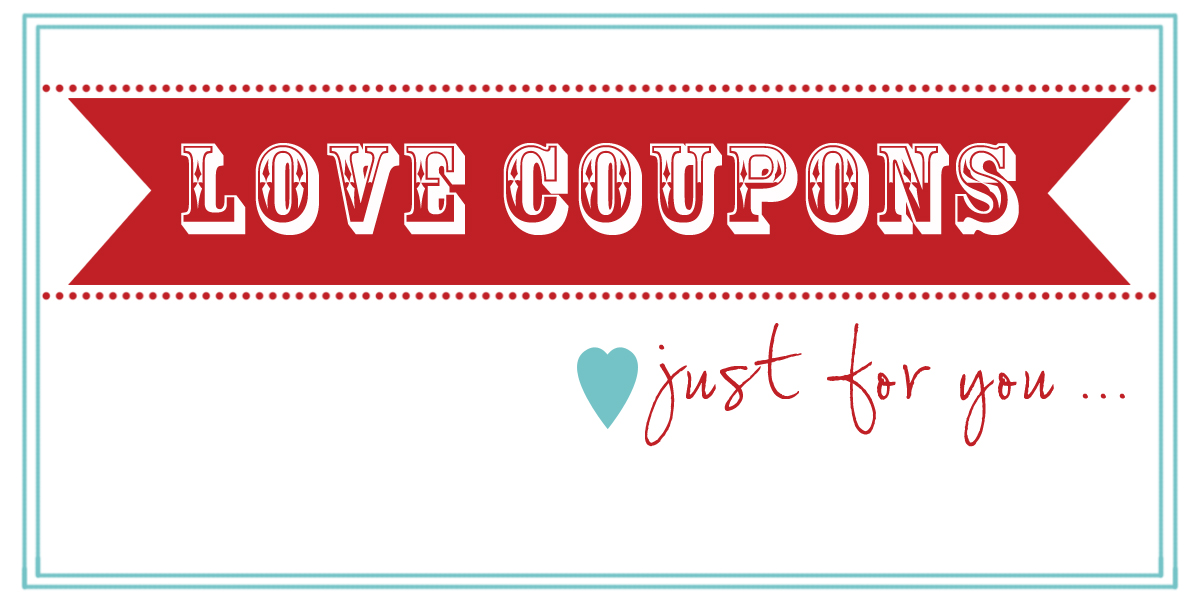 Homemade Coupon Template – Free Coupon Book Template