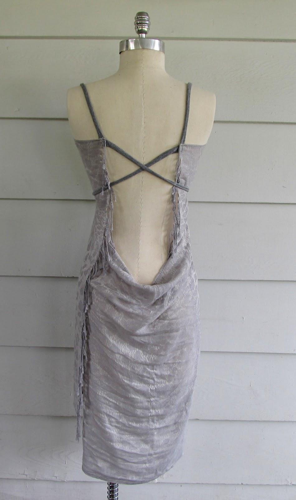 Wobisobi Scarf Cover Up Dress Easy Diy