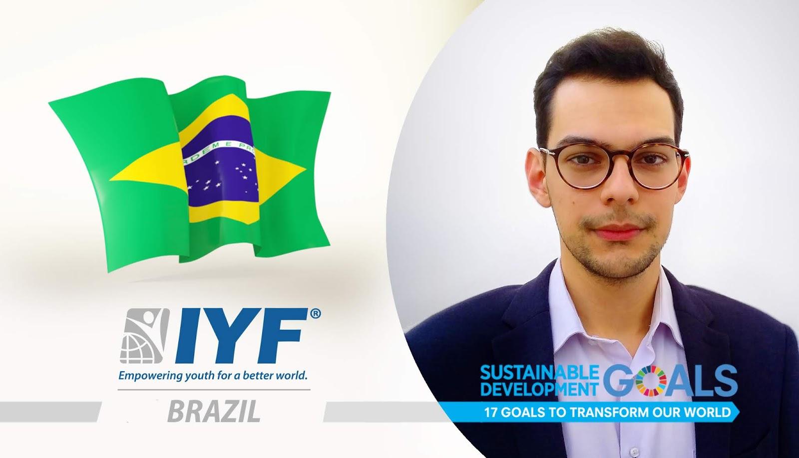 Bruno Moda, IYF Representative in Brazil