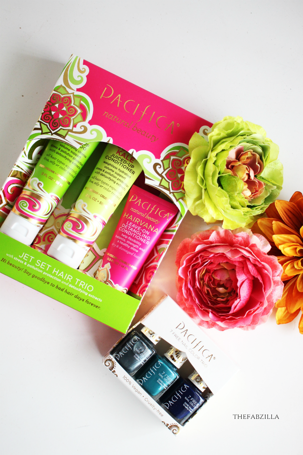 Pacifica Beauty 7 Free Nail Trio, Pacifica Beauty Jet Set Trio Kale Collection, spring beauty must haves