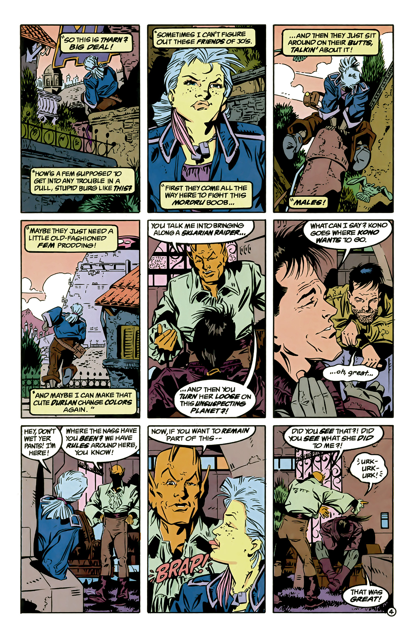 Legion of Super-Heroes (1989) 6 Page 4