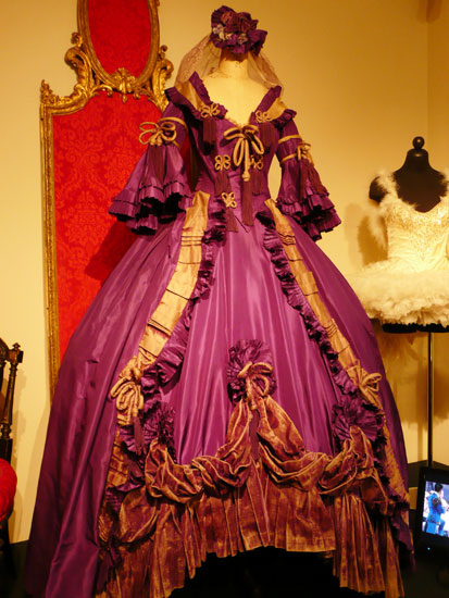 Debbie Reynolds costume exhibit Norma Shearer dress by Lady by Choice