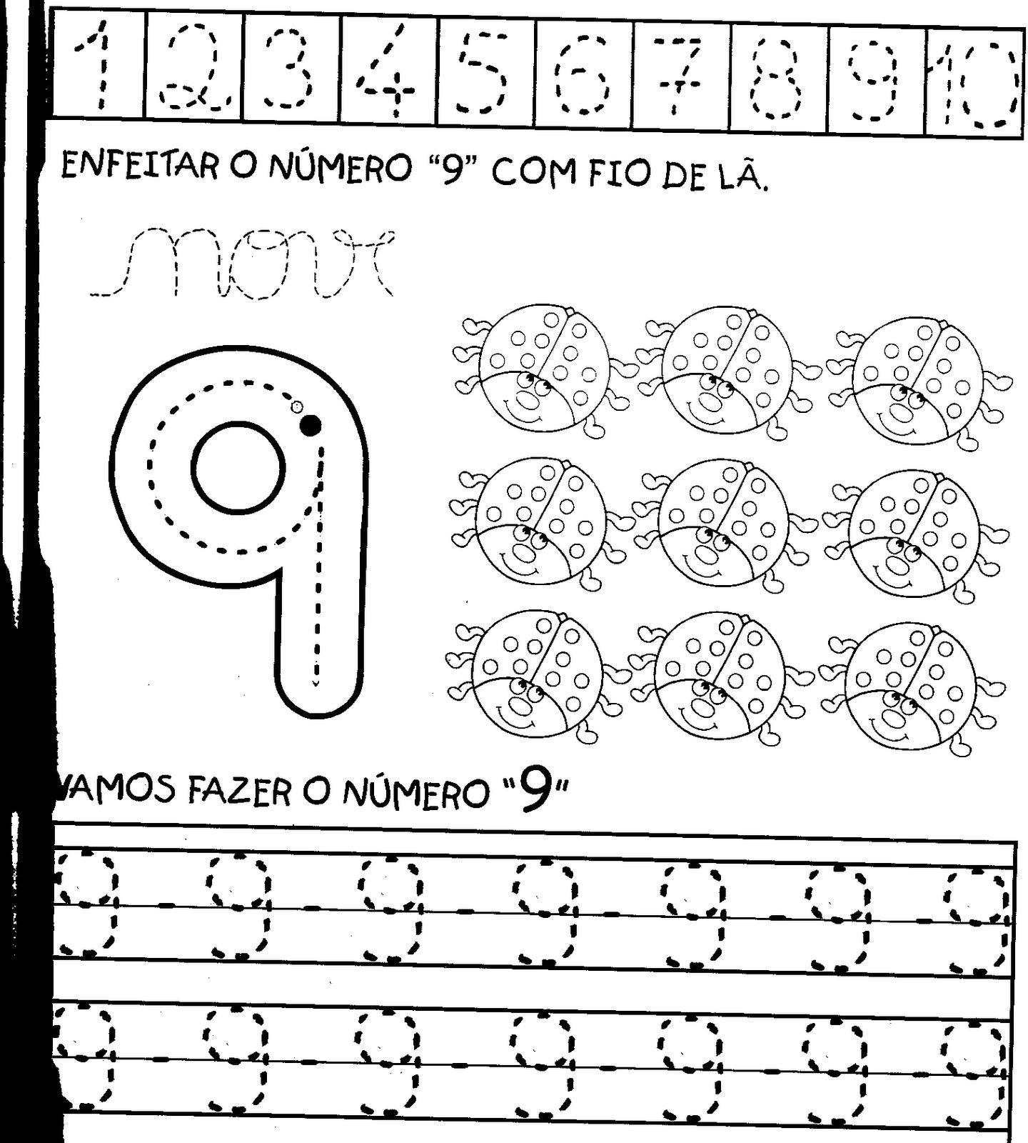 0 A 10 Dsl Splitter Wiring Diagram Atividades Para Treinar Os NÚmeros De 1 Aprender E