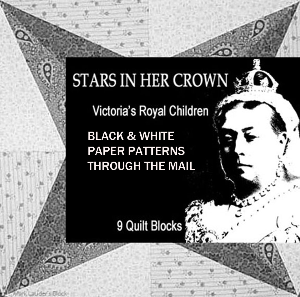 Order STARS IN HER CROWN as printed patterns.
