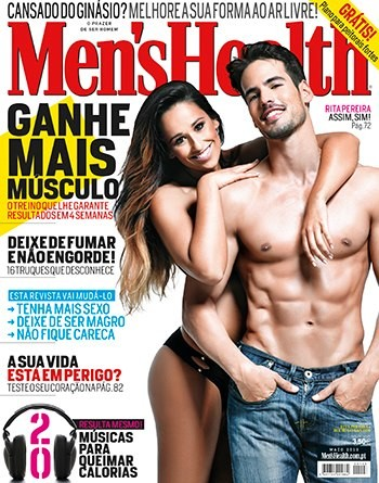 Rita Pereira capa da Men's Health (fotos)