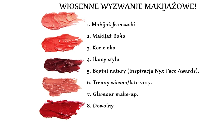 Wiosenne wyzwanie makijażowe #4 Ikony stylu