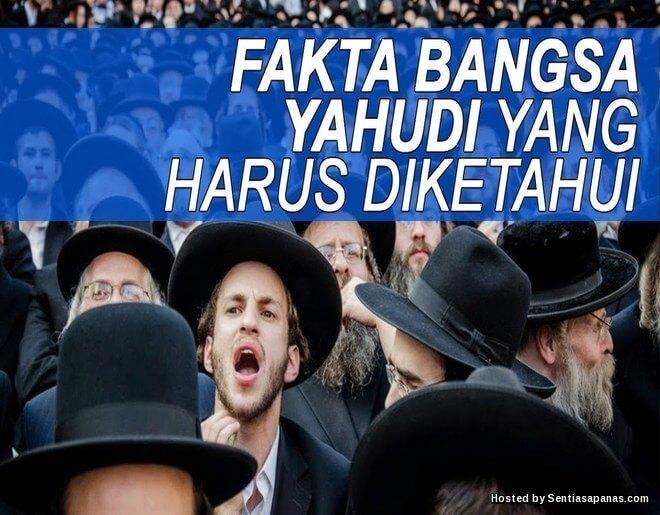 Sejarah Siapakah Sebenarnya Bangsa Yahudi