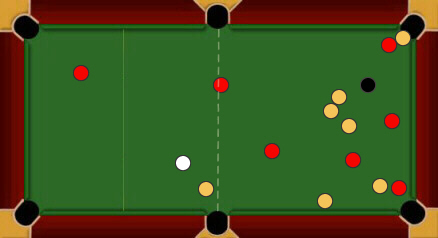 blackball pool rules legal break