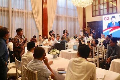 Meureumpok Awak Media Asing di Rumoh, Prabowo: Han Ku Tem Talo Kalinyo