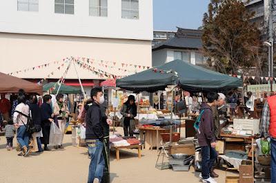 松本市で毎月開催される蚤の市 まつもと古市(ふるいち)#24