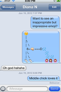 Funny Message with Emoji
