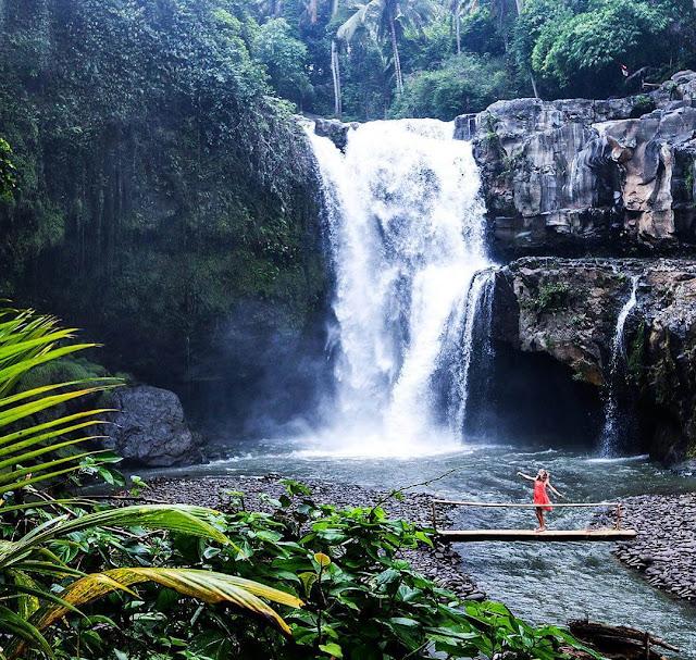 Air Terjun Tegenungan, Air Terjun di Sukawati Bali