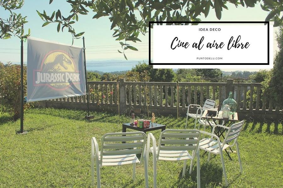 Cine al aire libre - Punto de Lu