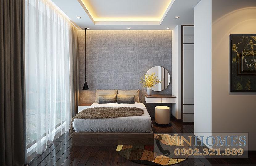 cho thuê căn hộ Vinhomes tòa Park 5 140m2 tầng trung nội thất mới - hinh 7