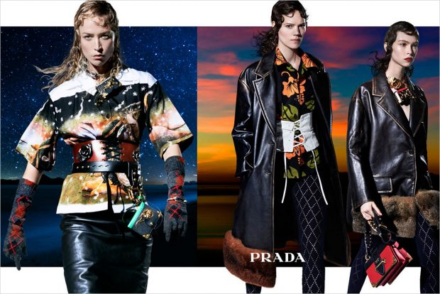 Prada Fall Winter 2016.17 by Steven Meisel