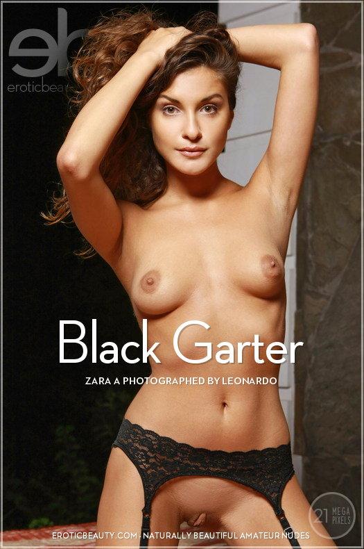 EroticBeauty4-28 Zara A - Black Garter 03180