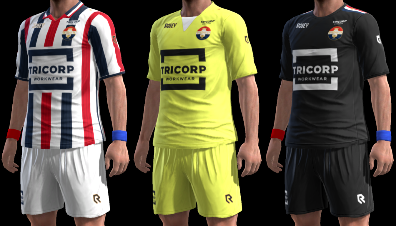 PES 2013 Willem II 17-18 V2 GDB by m4rcelo