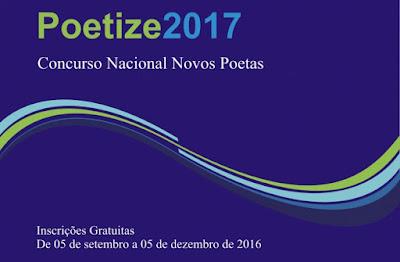 Concurso Nacional Novos Poetas, Prêmio Poetize 2017 - Blog do Asno