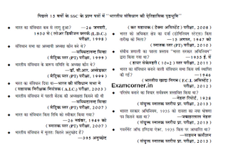 Last 15 Years Questions of SSC Polity PDF