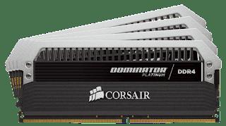 RAM Jenis DDR4 Terbaik 2017 - Corsair Dominator Platinum 32GB DDR4-3333 - WandiWeb