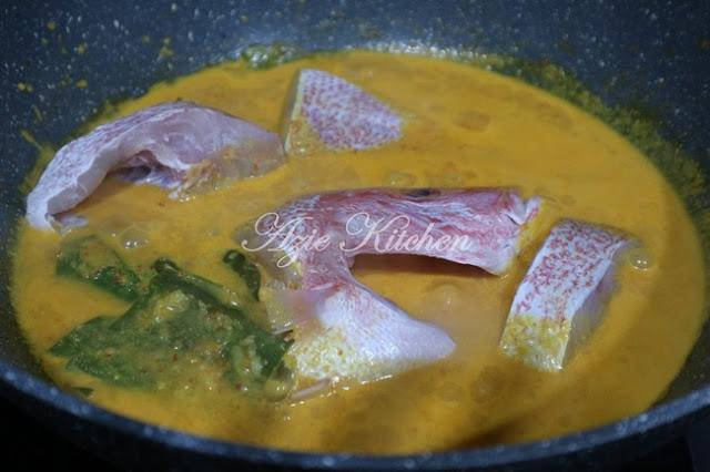 Gulai Ikan Merah Padang