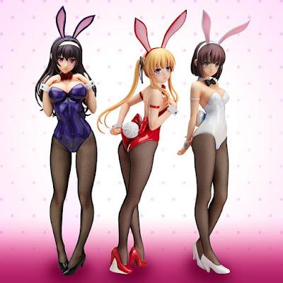 """Saenai Heroine no Sodatekata"" Eriri Spencer Sawamura: Bunny ver."