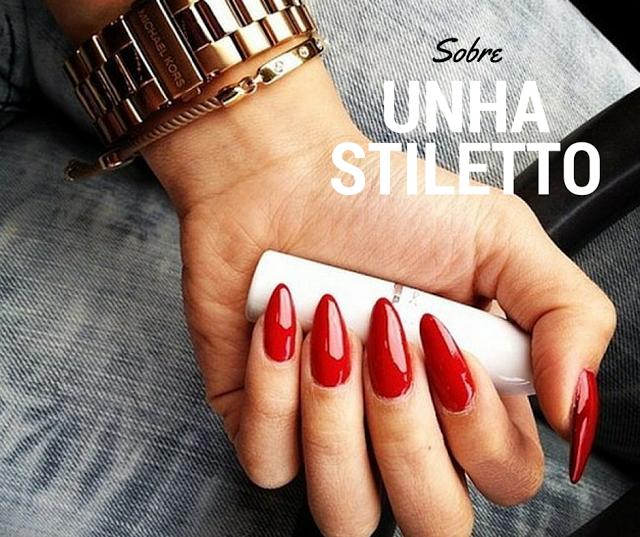 Unhas Stiletto