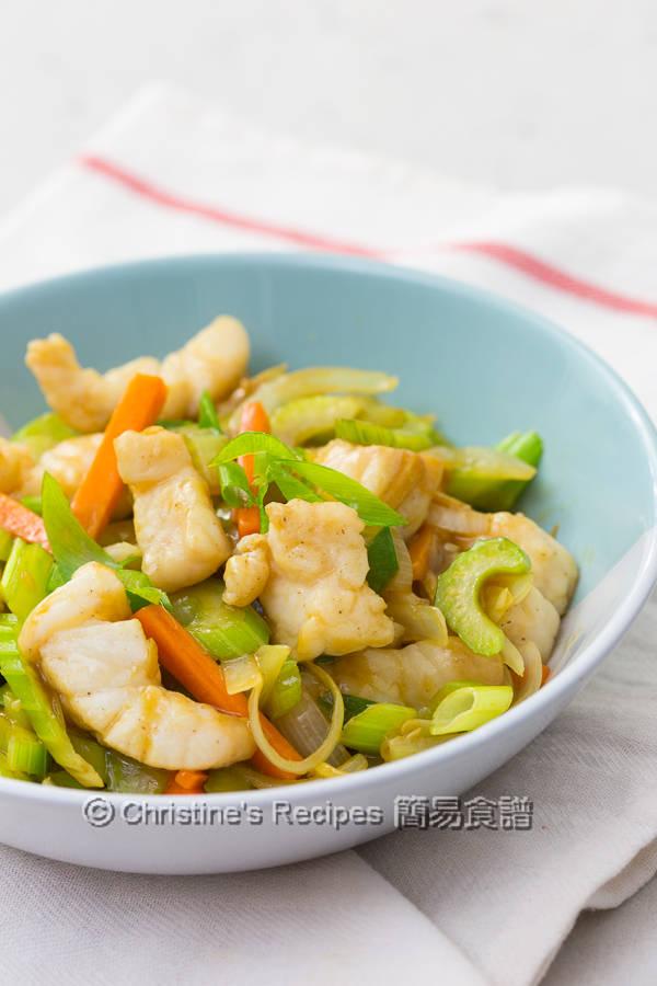 西芹炒魚柳 Celery Fish Stir Fry03