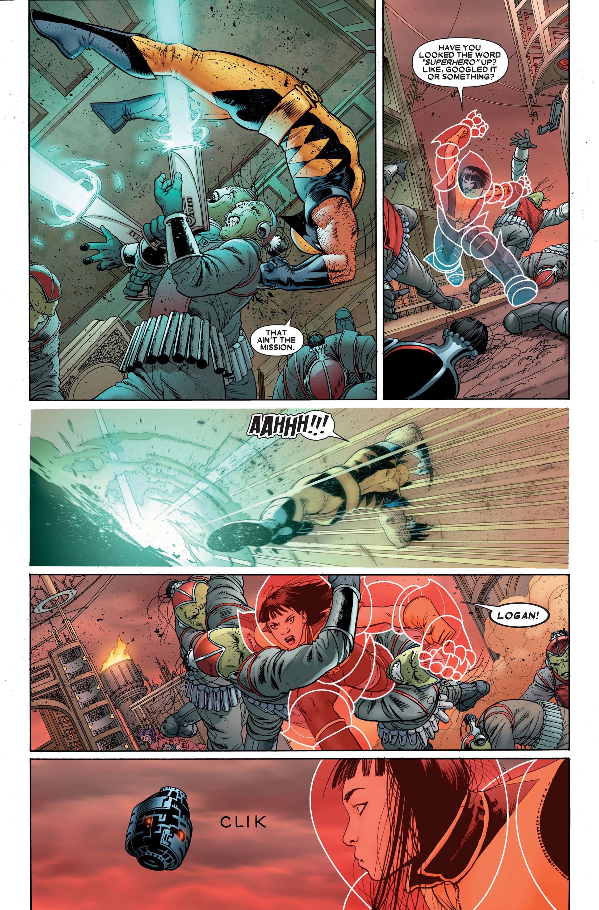 Read online Astonishing X-Men (2004) comic -  Issue #23 - 9
