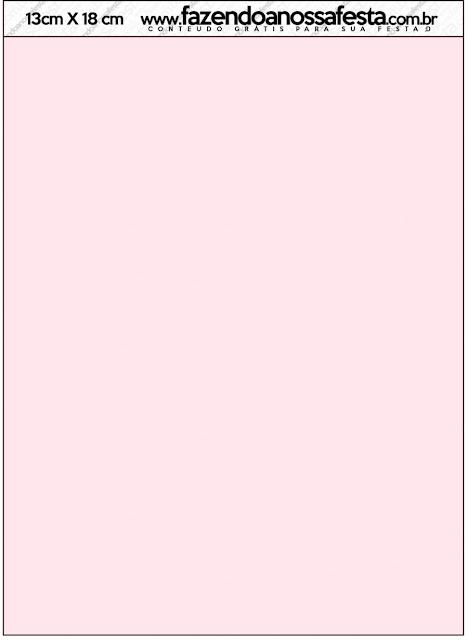 Ovejita en Shabby Chic de Rosas Rosadas: Invitaciones para Imprimir Gratis.