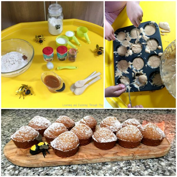 Bee Week Tuff Tray Bee Activities for Kids
