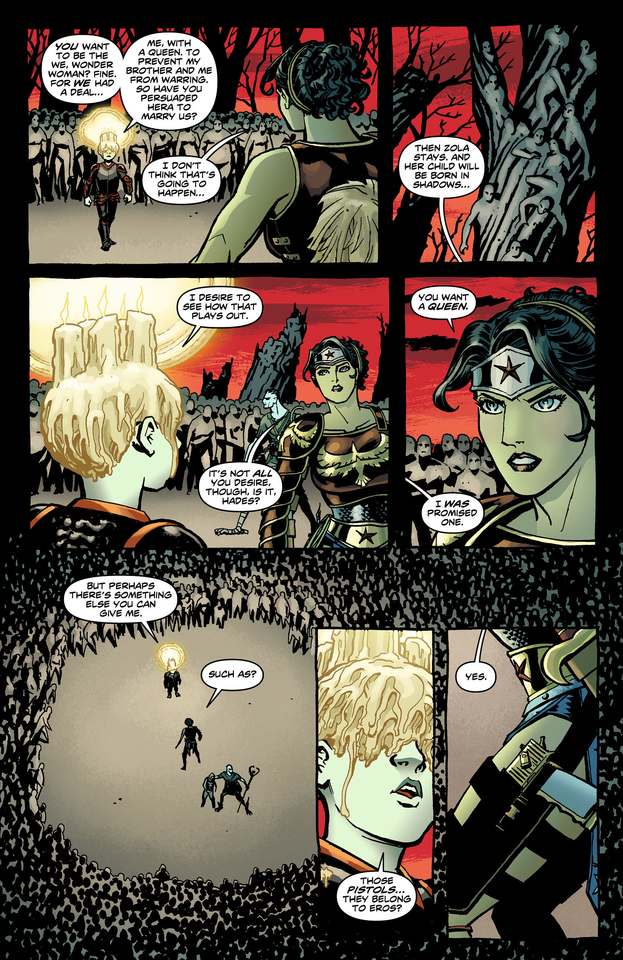 Read online Wonder Woman (2011) comic -  Issue #8 - 19