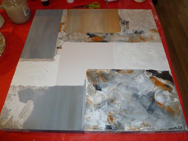 eenvoudig schilderij maken